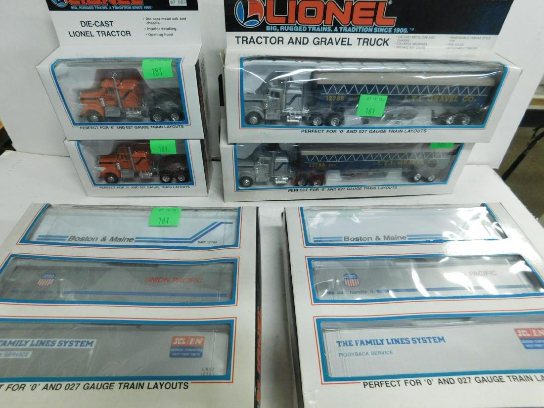 Lionel Tractors & Trailers in Boxes