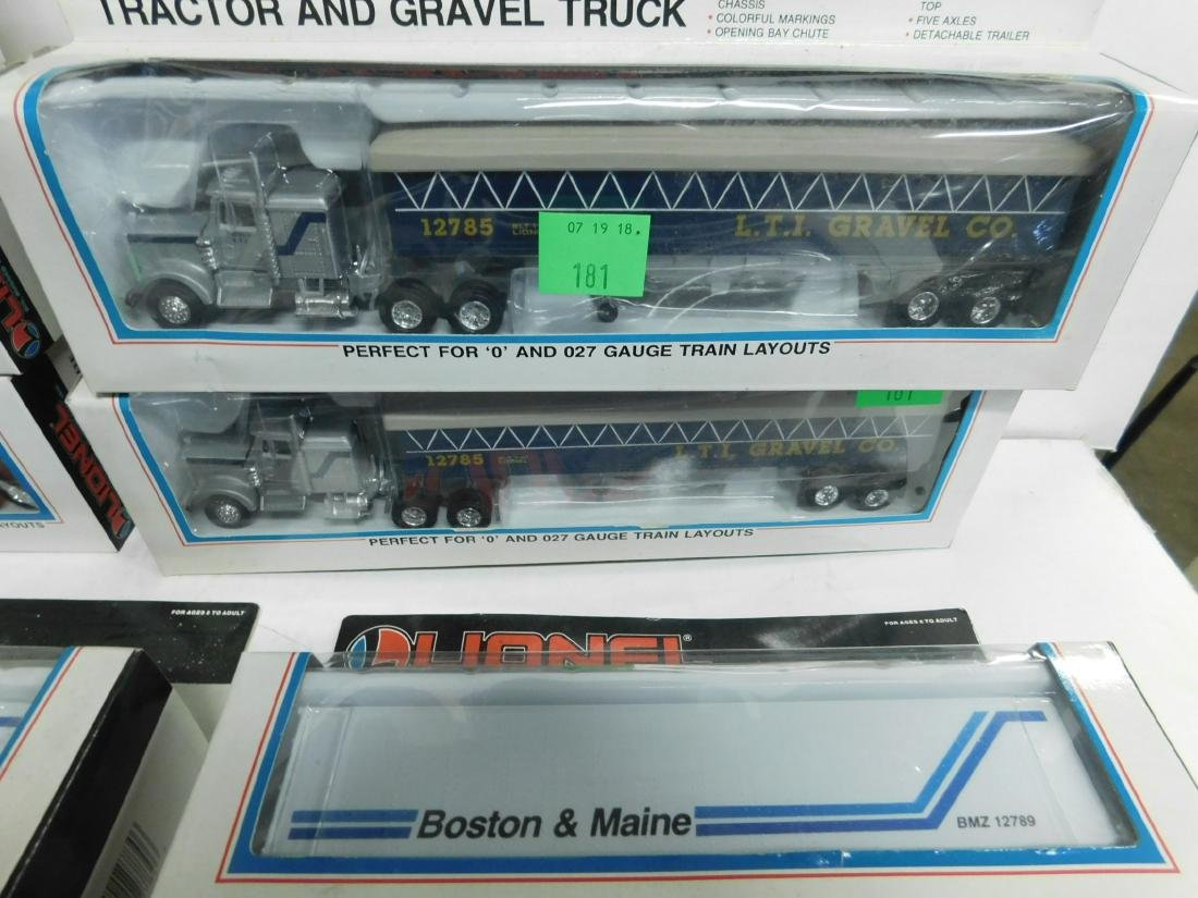 Lionel Tractors & Trailers in Boxes - 4