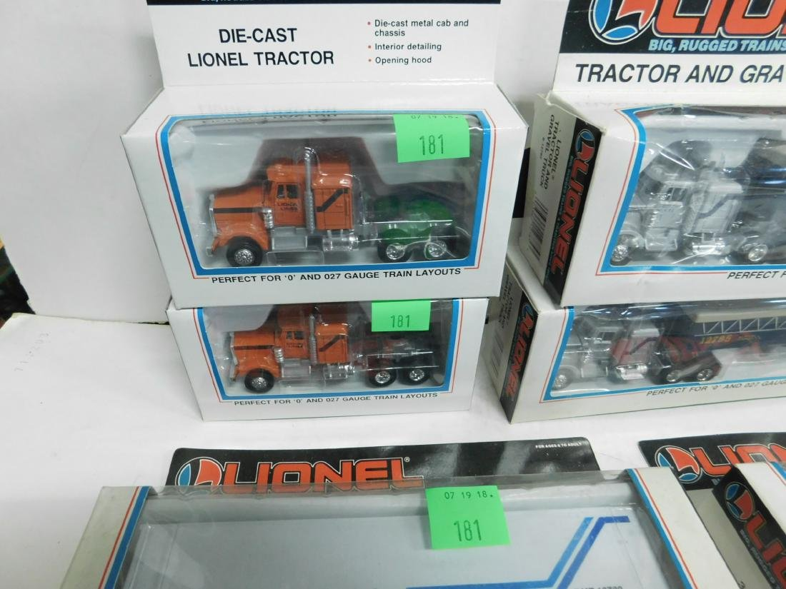 Lionel Tractors & Trailers in Boxes - 5