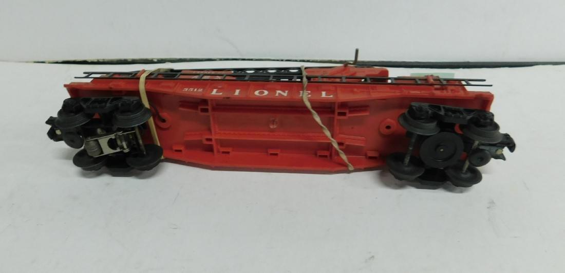 Lionel Postwar Operating Fireman & Ladder Car - 3