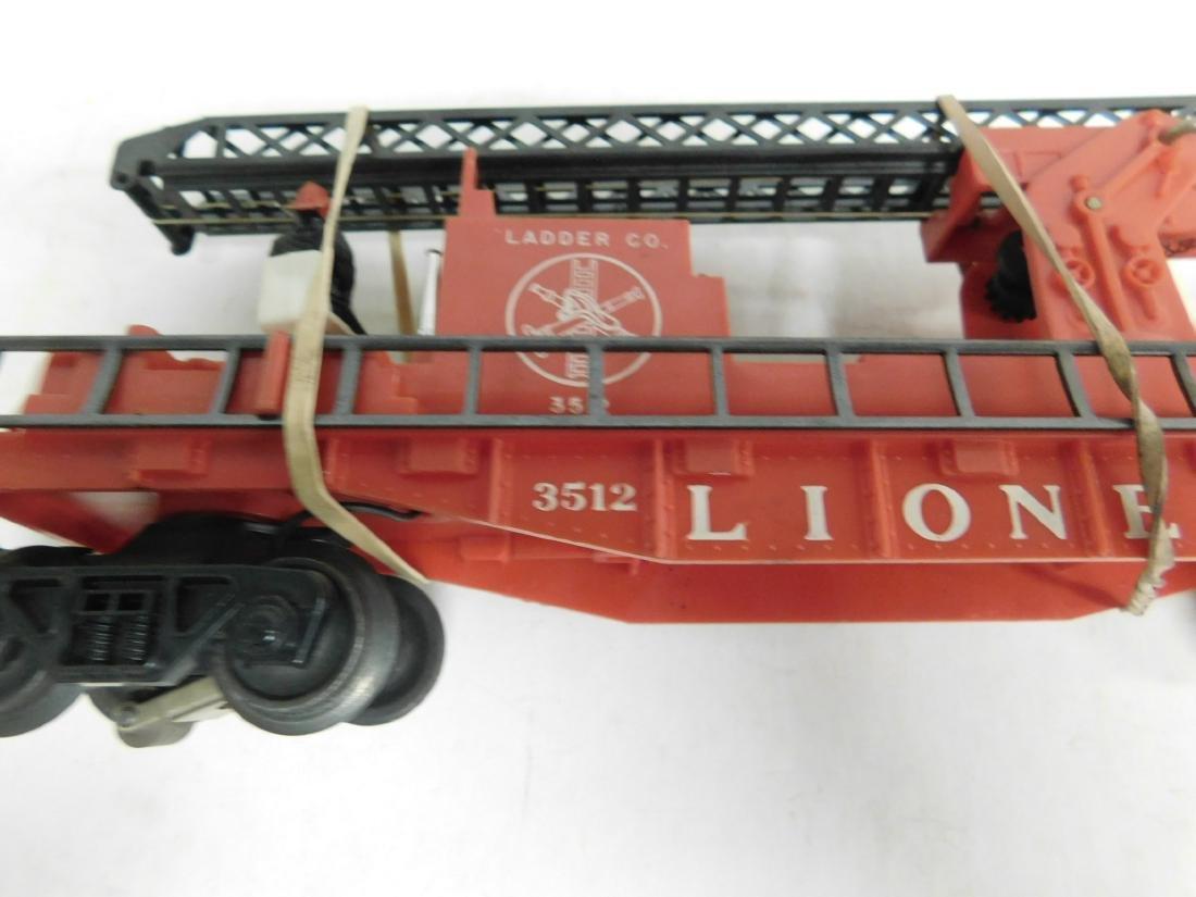 Lionel Postwar Operating Fireman & Ladder Car - 4