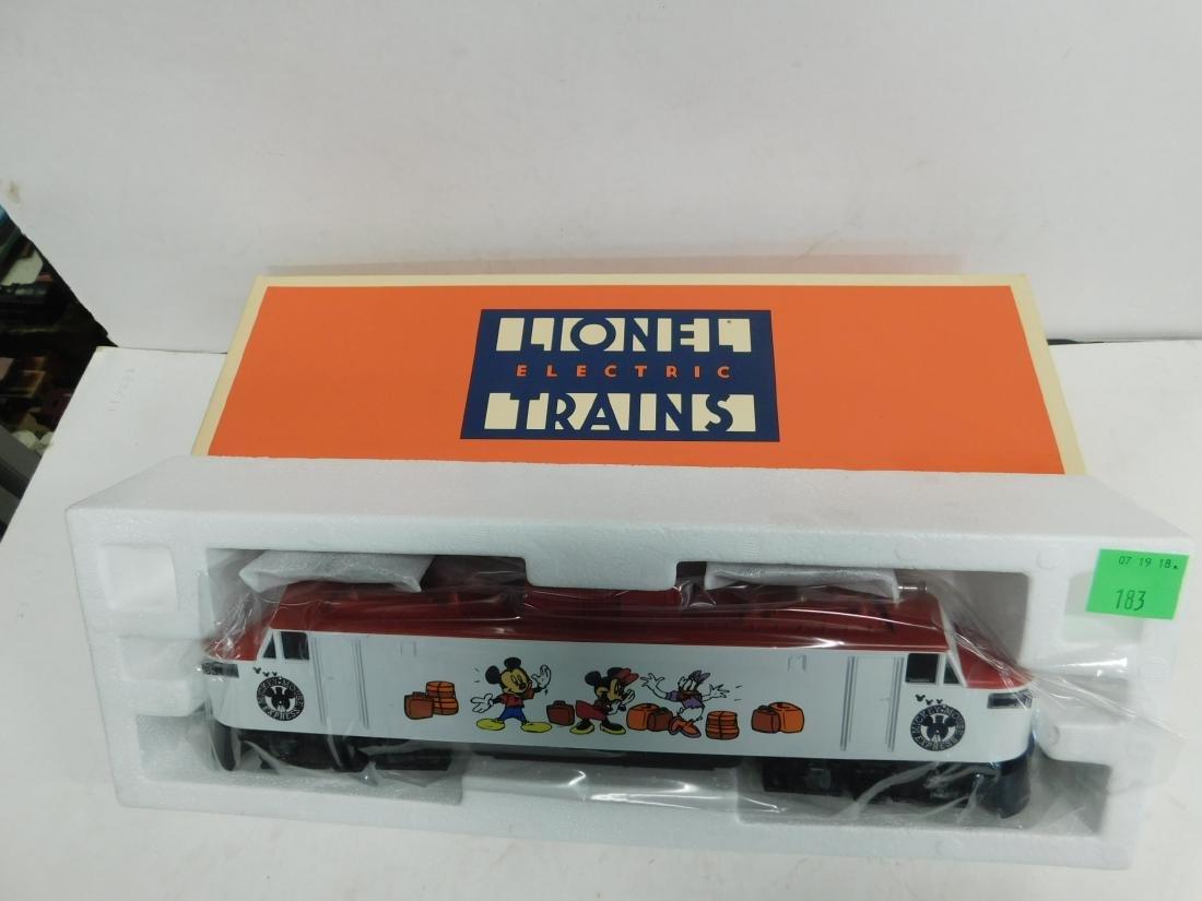 Lionel Disney Electric Engine NIB