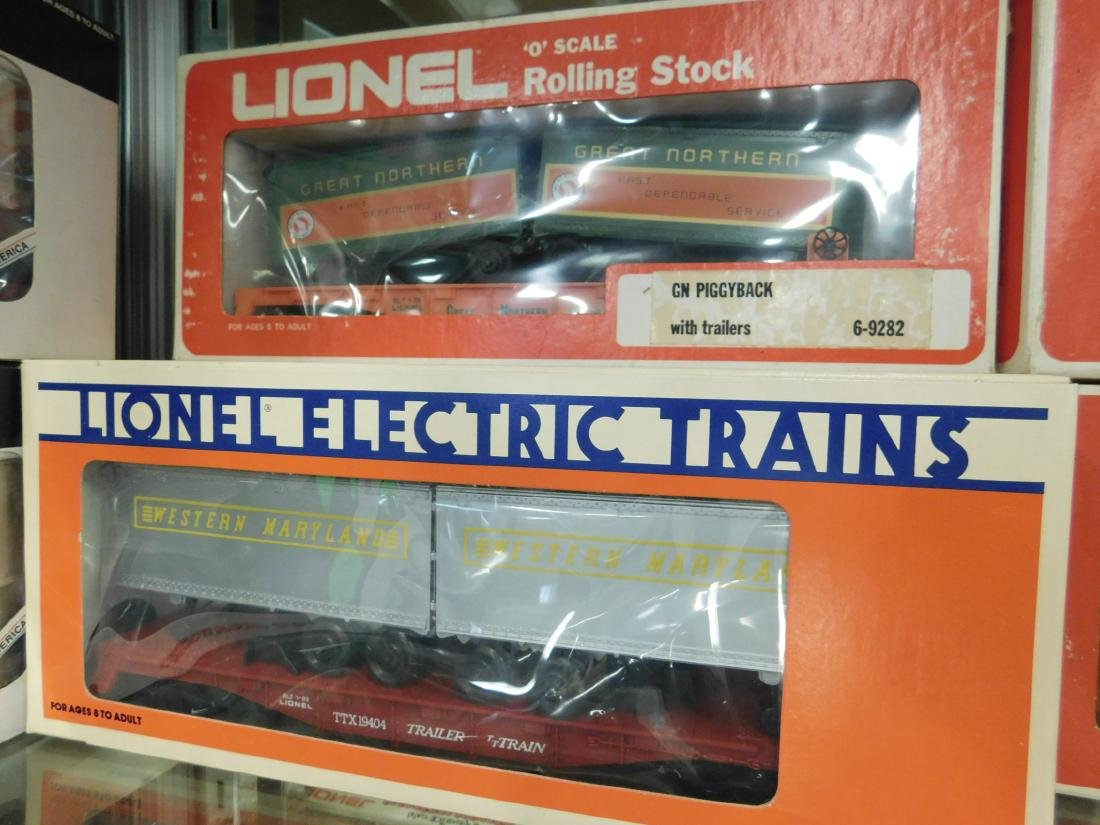 "7 Lionel ""Rolling Stock"" Train Cars in Boxes - 3"