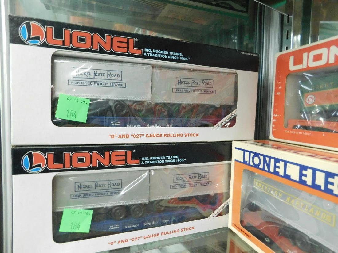 "7 Lionel ""Rolling Stock"" Train Cars in Boxes - 4"