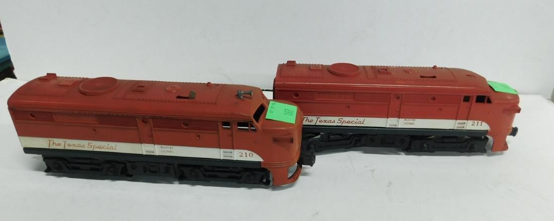 Lionel Postwar Texas Special Engine & Dummy