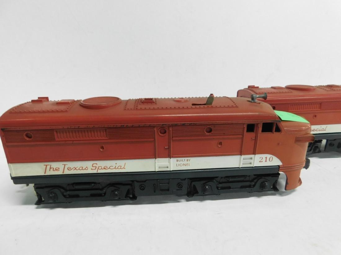 Lionel Postwar Texas Special Engine & Dummy - 2