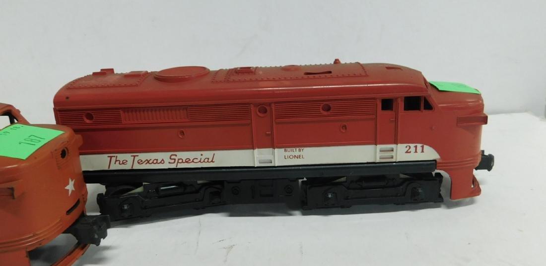Lionel Postwar Texas Special Engine & Dummy - 3