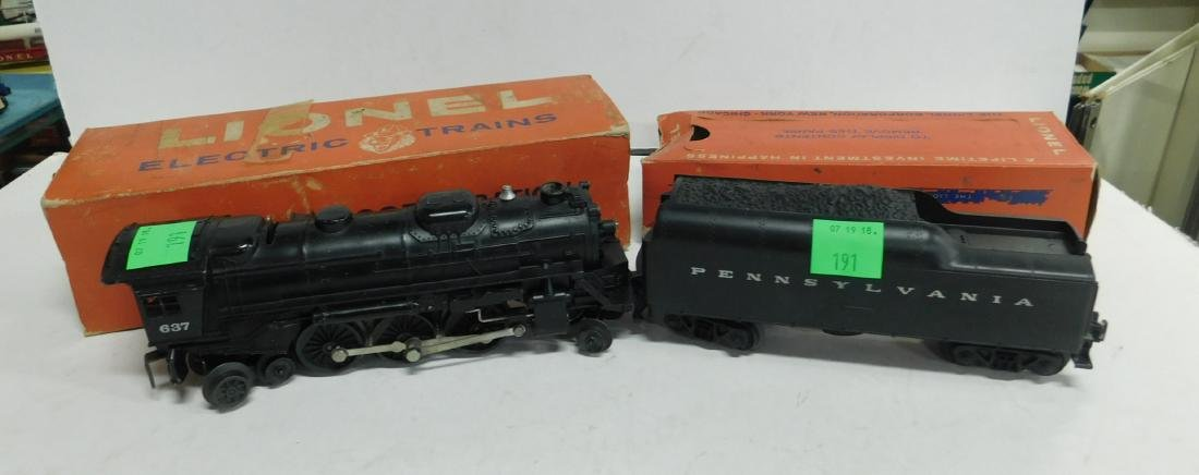 Lionel Postwar Steam Locomotive & Tender