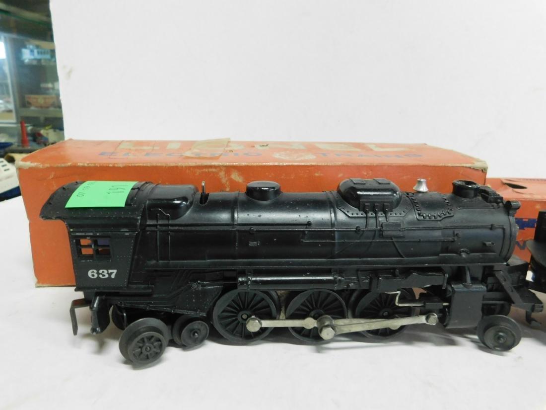 Lionel Postwar Steam Locomotive & Tender - 3