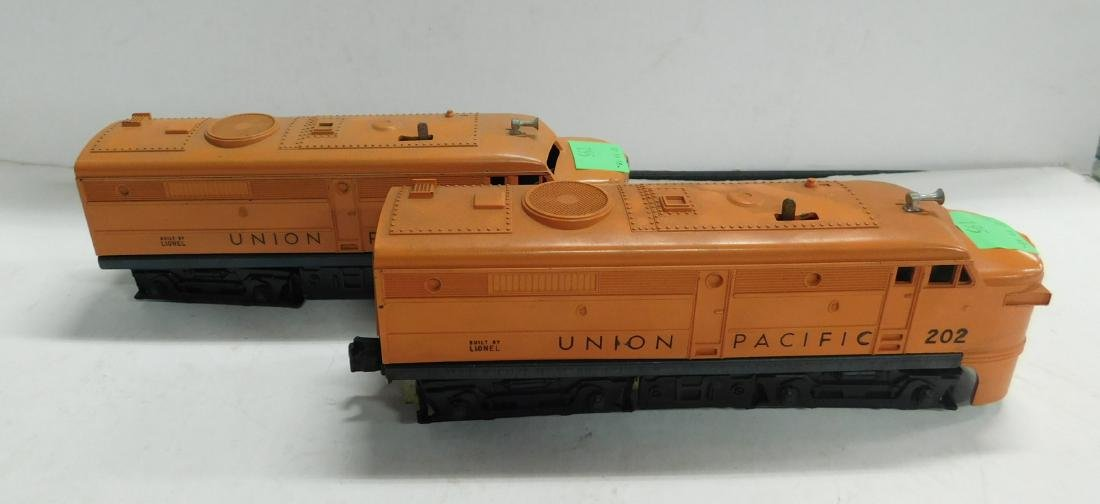 2 Lionel Postwar Union Pacific Engines