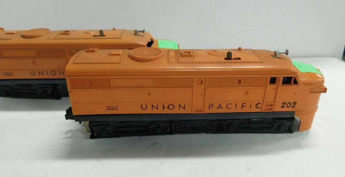 2 Lionel Postwar Union Pacific Engines - 2