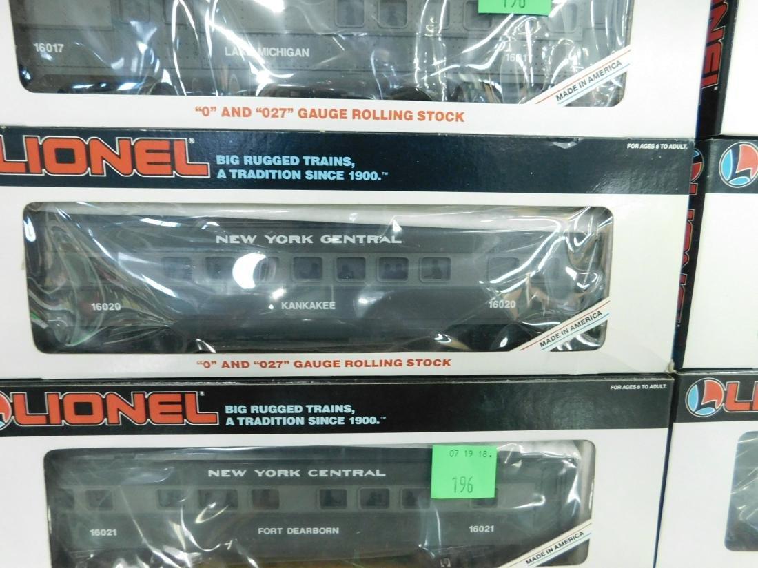 6 Lionel New York Central Train Cars - 2