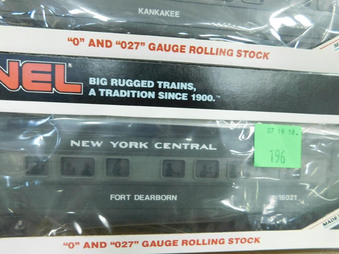 6 Lionel New York Central Train Cars - 6