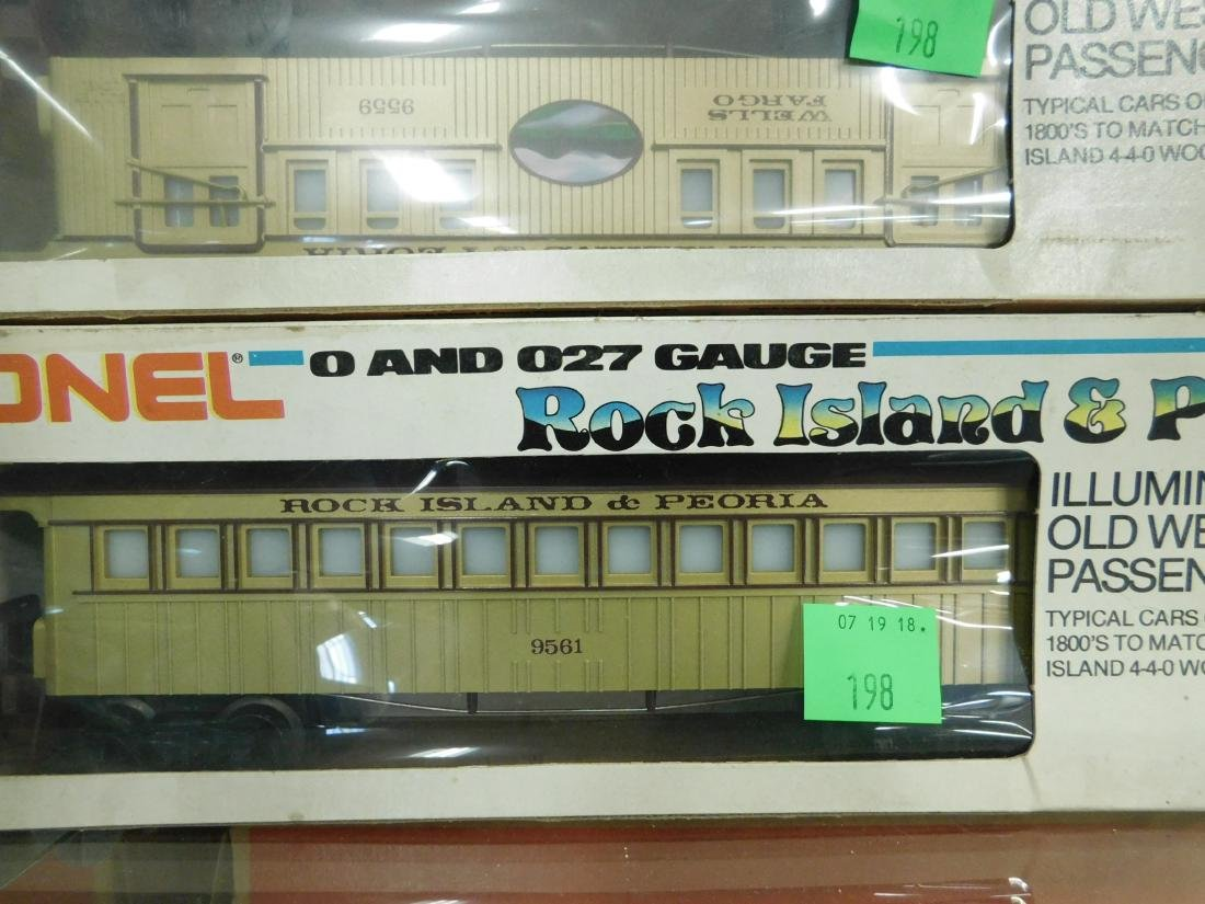 Set of 3 Lionel MPC Train Cars in Original Boxes - 2