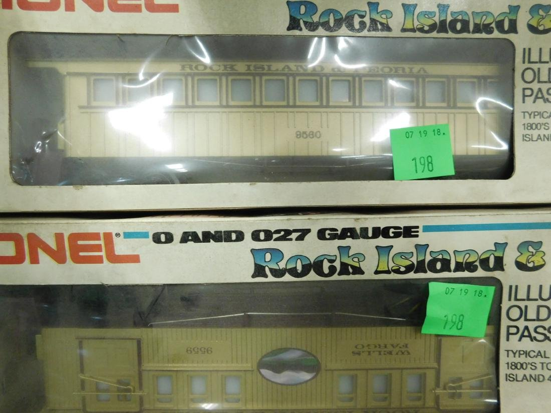 Set of 3 Lionel MPC Train Cars in Original Boxes - 3