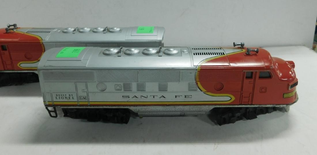Lionel Postwar Sante Fe Engine & Dummy - 2