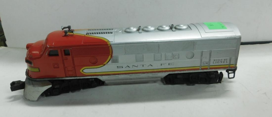 Lionel Postwar Sante Fe Engine & Dummy - 3