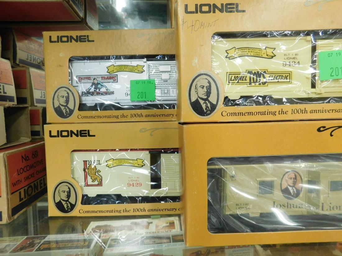 7 Joshua Lionel Cowen L/E Train Cars - 3