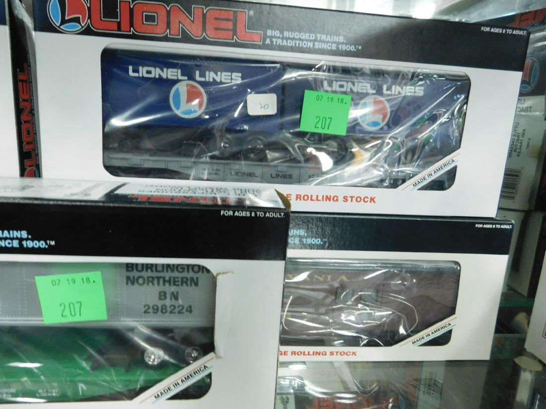 5 Lionel Rolling Stock Train Cars - 3