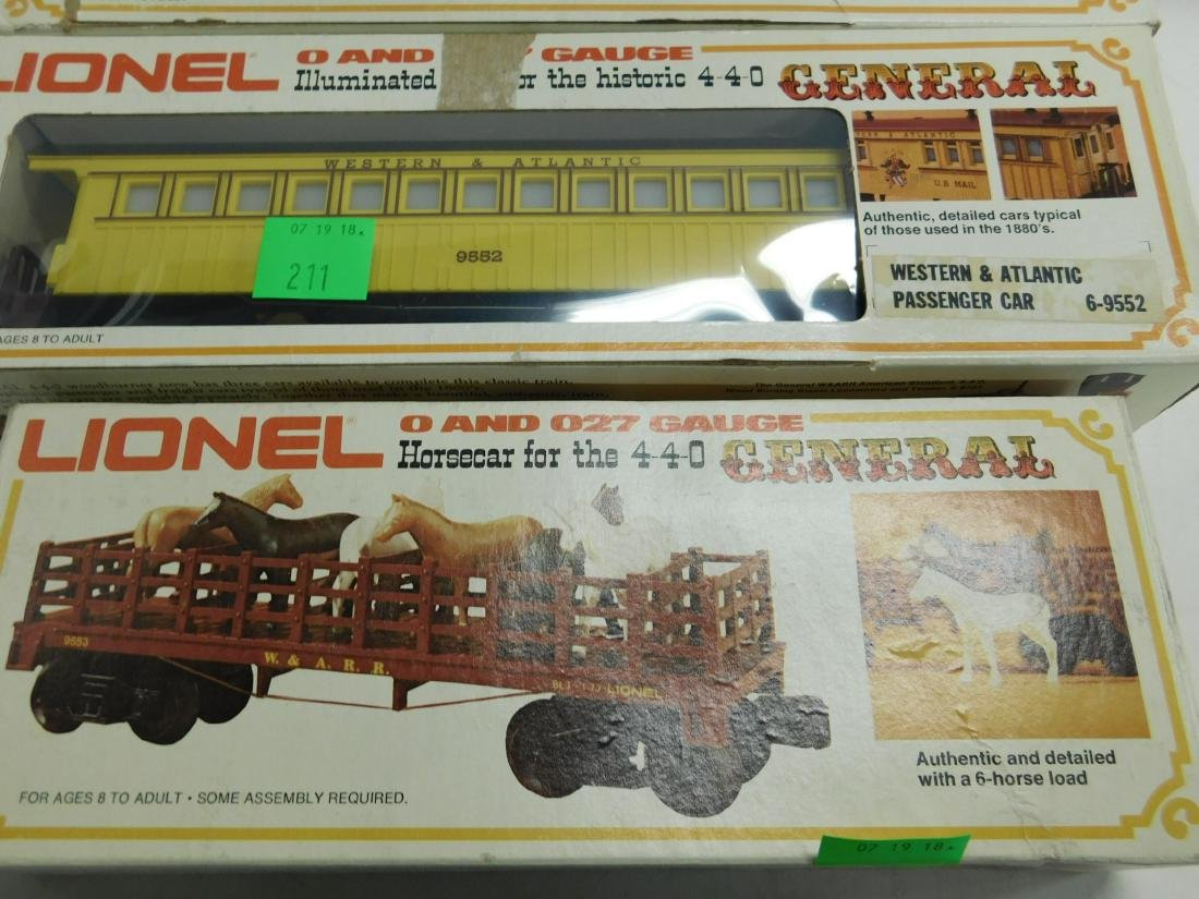 Lionel Western & Atlantic Baggage & Passenger Cars - 4