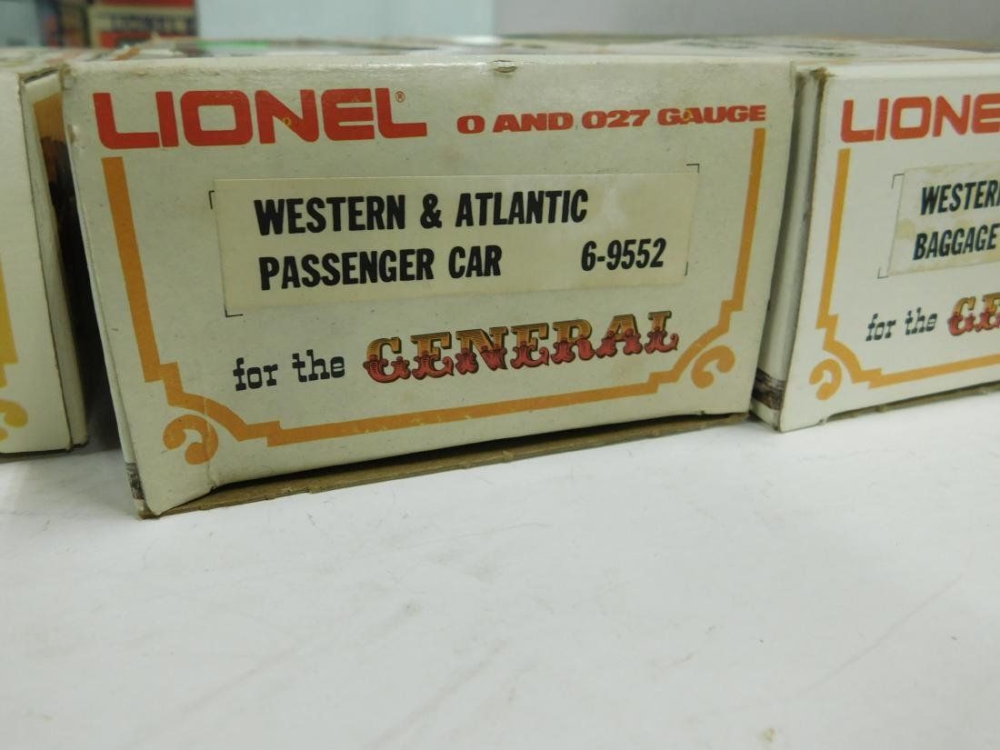 Lionel Western & Atlantic Baggage & Passenger Cars - 6