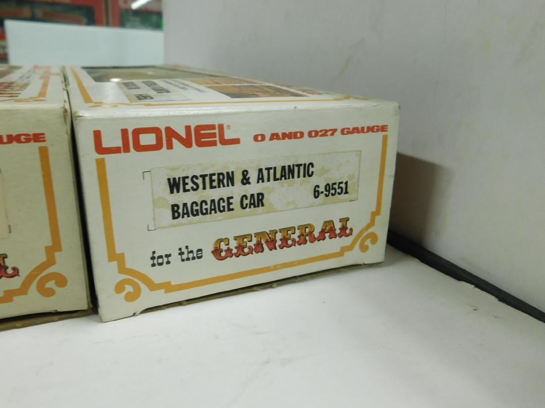 Lionel Western & Atlantic Baggage & Passenger Cars - 7