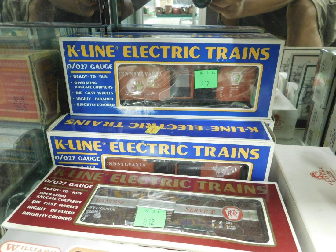 6 K-Line & Other Train Cars in Original Boxes - 2