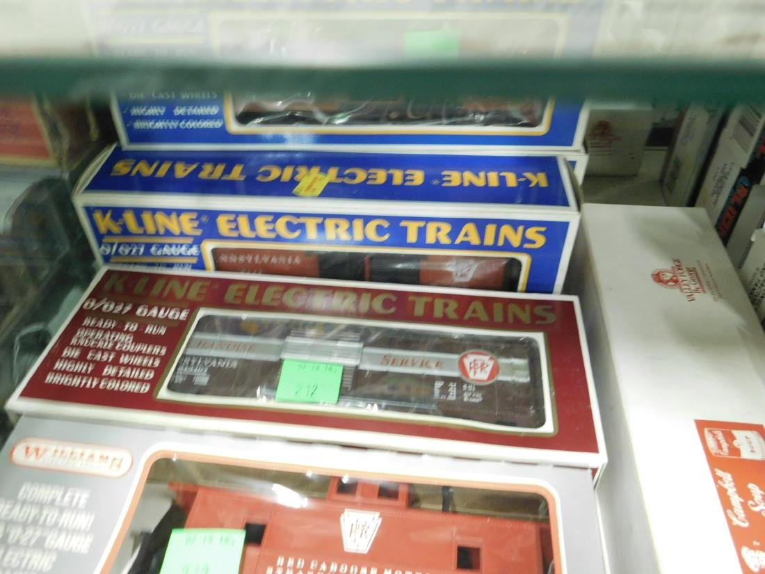 6 K-Line & Other Train Cars in Original Boxes - 3
