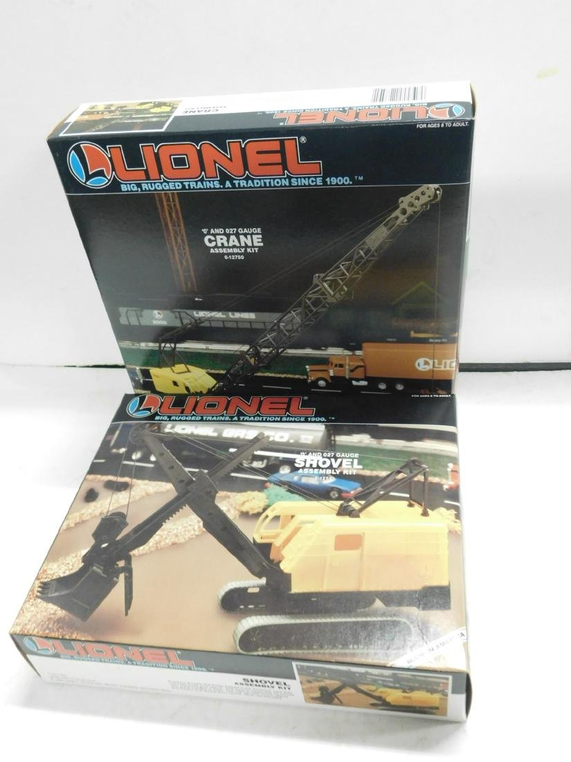 2 Lionel Assembly Kits NIB