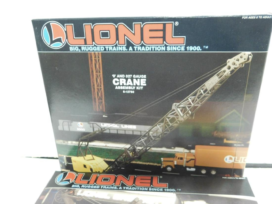 2 Lionel Assembly Kits NIB - 3