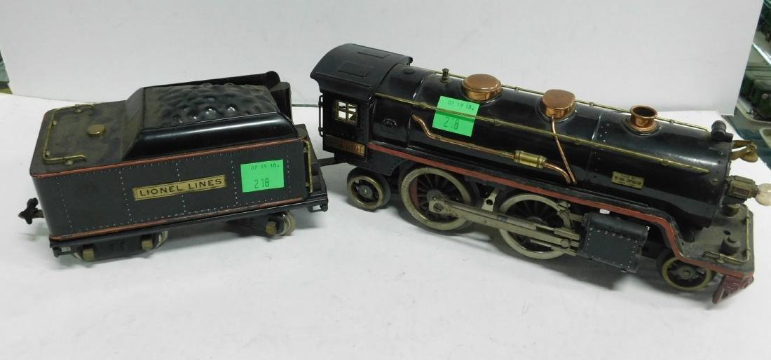 Lionel prewar Standard Gauge Engine & Tender