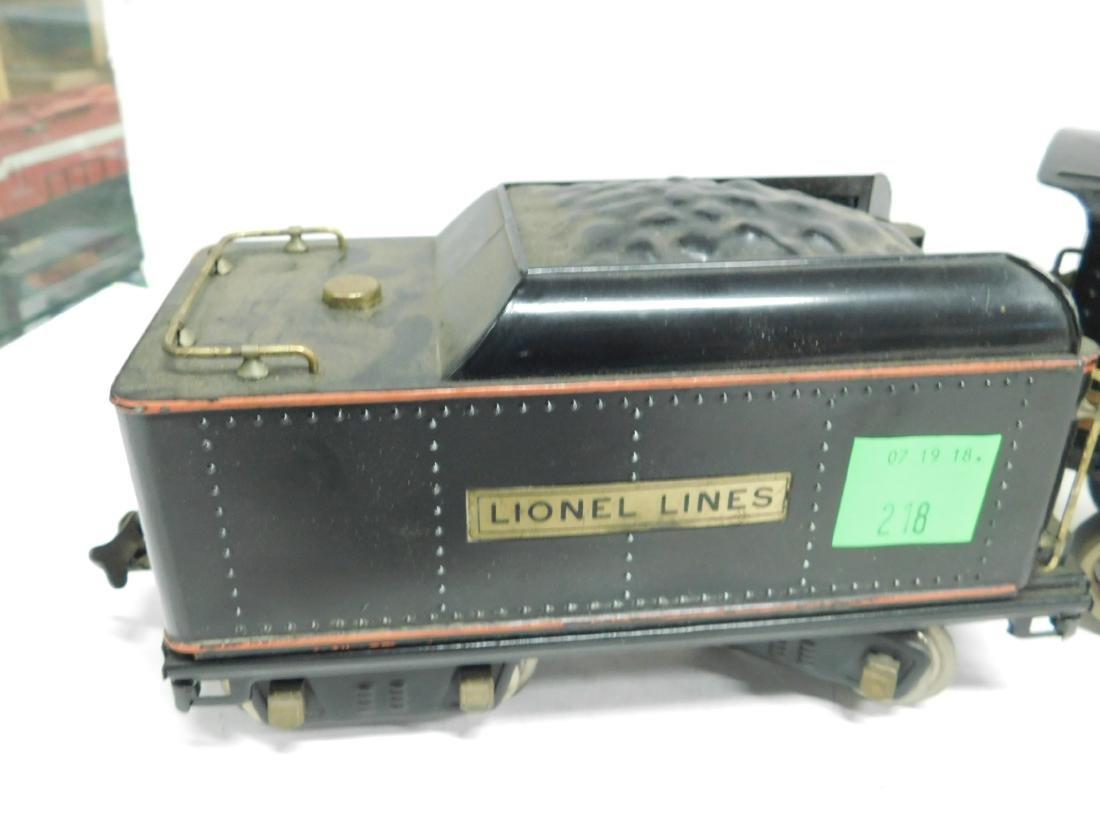 Lionel prewar Standard Gauge Engine & Tender - 2