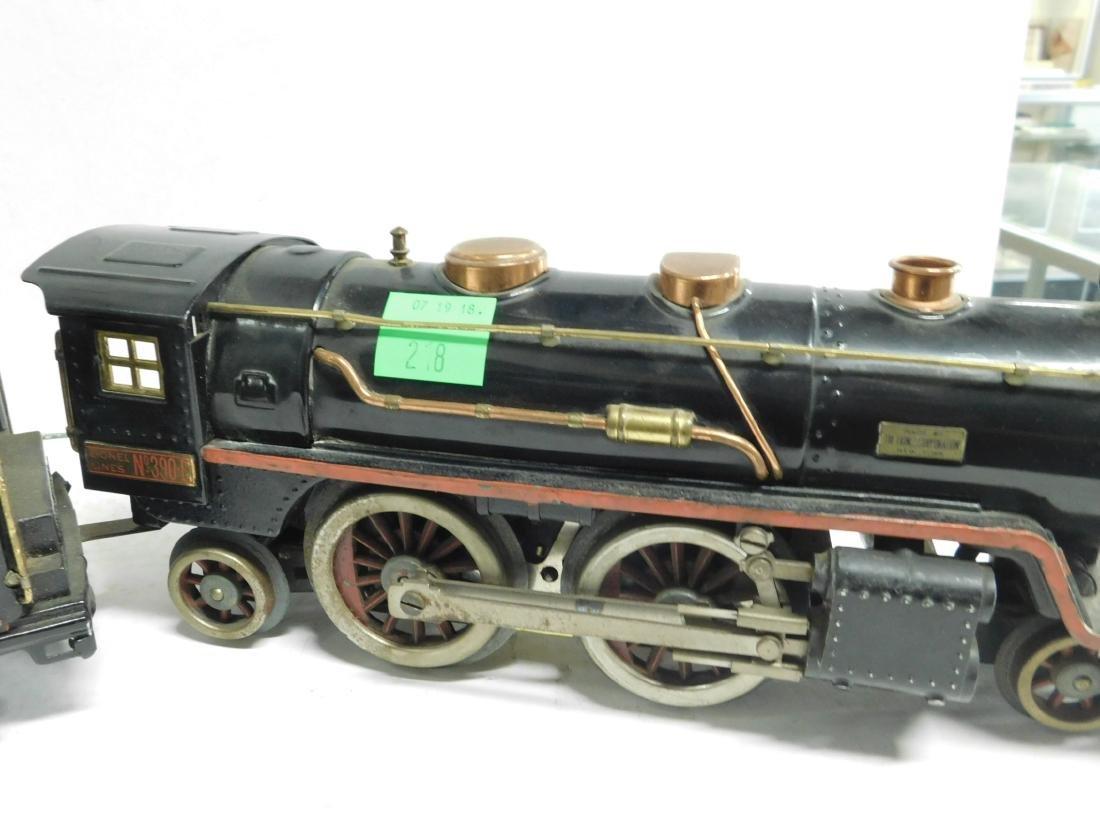 Lionel prewar Standard Gauge Engine & Tender - 3