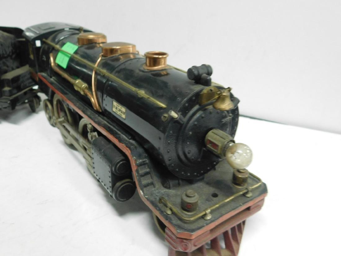 Lionel prewar Standard Gauge Engine & Tender - 4