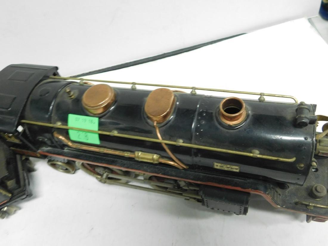Lionel prewar Standard Gauge Engine & Tender - 5