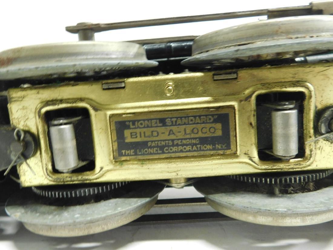 Lionel prewar Standard Gauge Engine & Tender - 7