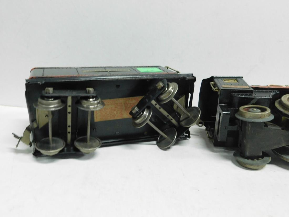 Lionel prewar Standard Gauge Engine & Tender - 9