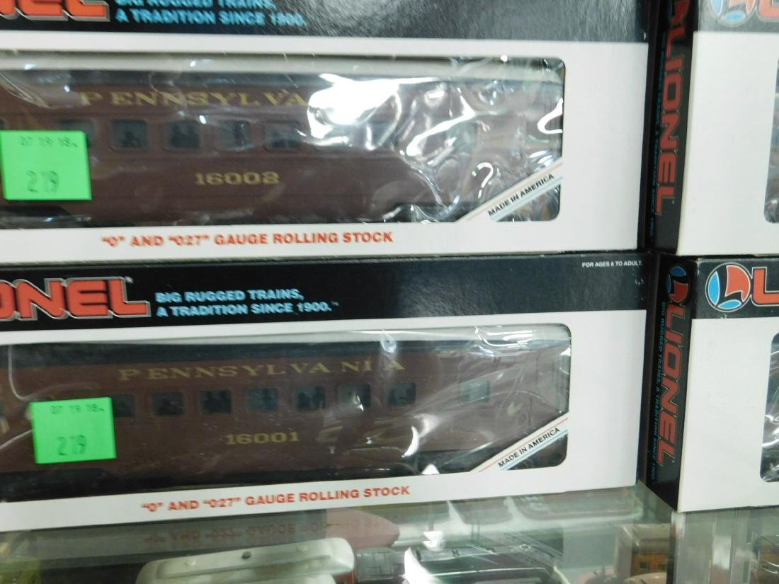 5 Lionel PA Rolling Stock Train Cars - 2