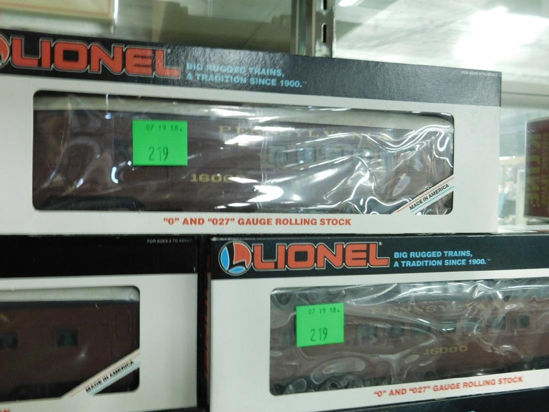 5 Lionel PA Rolling Stock Train Cars - 3