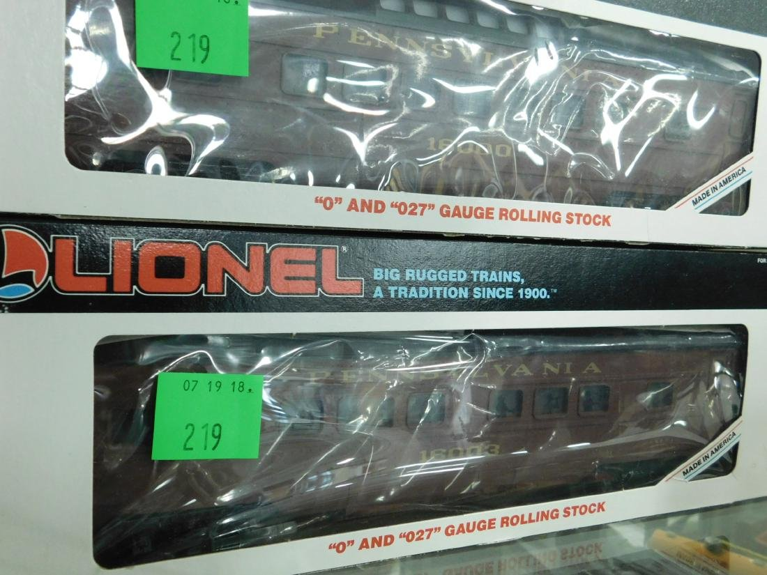 5 Lionel PA Rolling Stock Train Cars - 4
