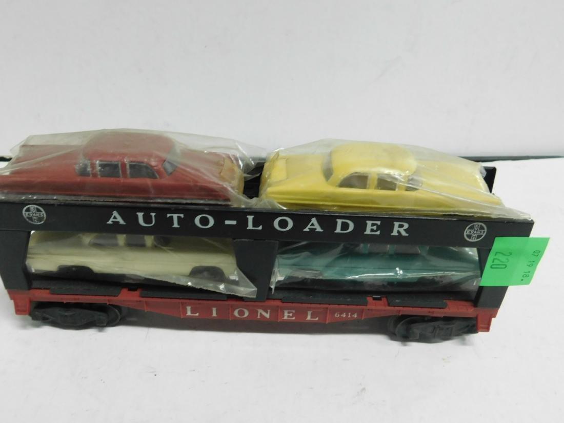 Lionel Postwar Auto Loader Train Car