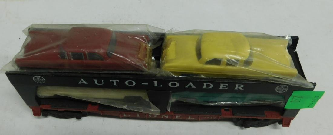 Lionel Postwar Auto Loader Train Car - 2