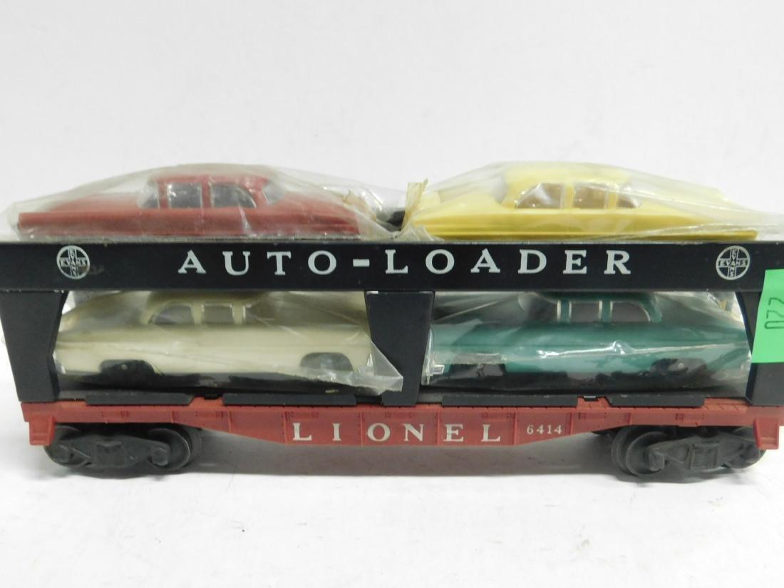 Lionel Postwar Auto Loader Train Car - 3