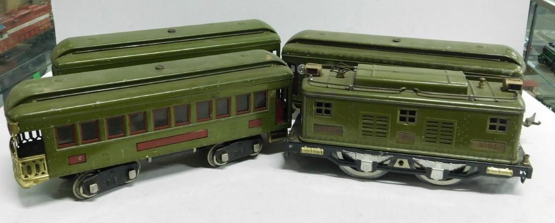 Lionel Prewar 4 Piece Standard Train Set