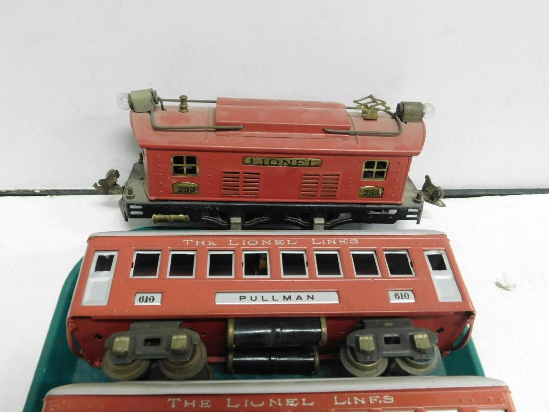 Lionel Prewar Engine & Train Cars - 3