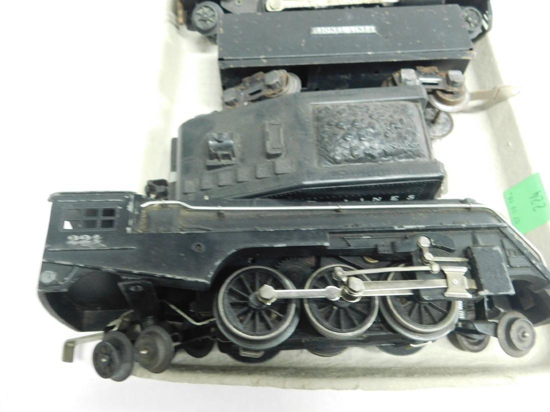 2 Lionel Steam Locomotive & 2 Tenders - 2