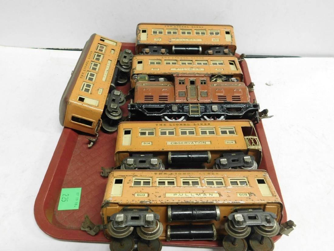 Lionel 252 Engine & 5 Cars