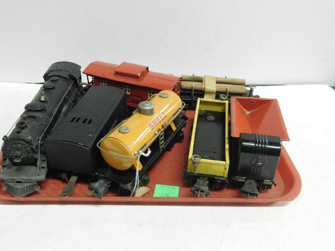 Lionel Lines Postwar Engine & Train Cars
