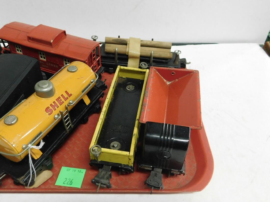 Lionel Lines Postwar Engine & Train Cars - 3