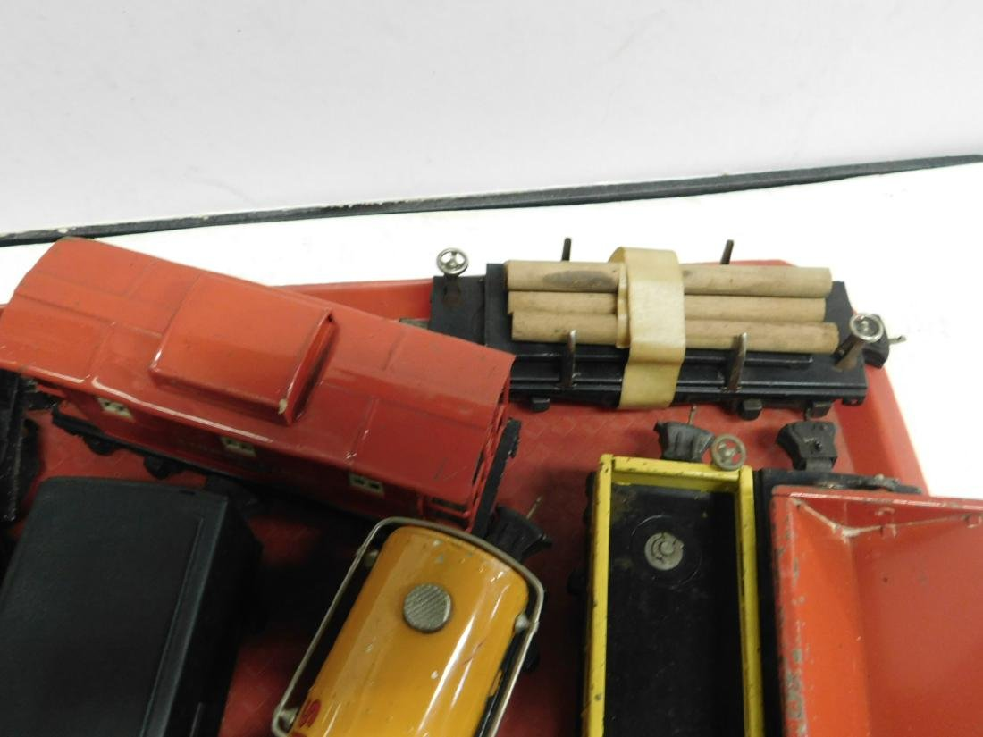 Lionel Lines Postwar Engine & Train Cars - 4